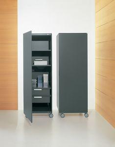 ROLLERBOX comp.02, Contenedor vertical para la oficina y el hogar