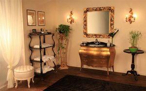 Art. 3110, Muebles de baño de madera sólida, tapa de cristal