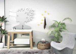 Bath Table 02, Composición para baño, en las cenizas, lavabo integrado