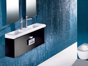 CURVET FURNITURE, Los muebles para baño, diversas dimensiones