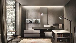 Nike 328, Muebles para baño, bañera con biblioteca incorporada
