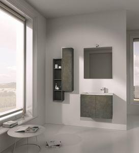 Singoli S 01, Muebles de ba�o, con lavabo integrado