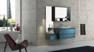 Torana TR 005, Muebles de baño con lavabo, modular y sencilla