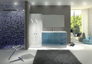 TR 012, Mueble con lavabo, parte superior con acabado de hormig�n