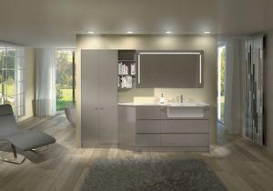 Torana TR 013, Mobiliario lacado brillante para ba�o y modular