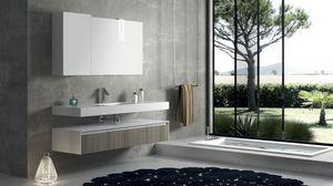 Torana TR 007, Composición de baño con acabado tramo frontal