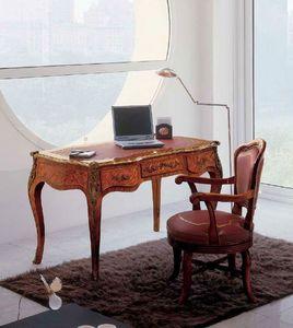 Art. 438, Escritorio con finos acabados ideales para oficinas clásicos