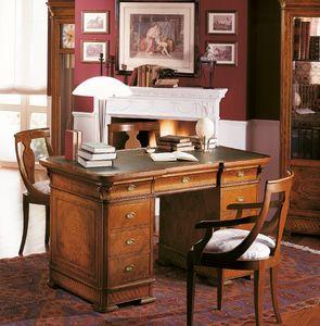 Art. 778/140, Escritorio de madera para oficinas de lujo, con incrustaciones