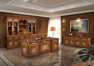 F602, Muebles de oficina en estilo clásico y lujoso