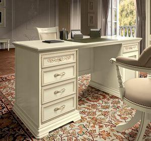 Torriani Home Office escritorio, Escritorio de lujo en estilo clásico