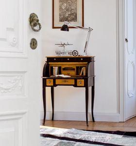 DELFINO Art. 4268, Escritorio lacado, de estilo clásico, para el estudio y el hogar