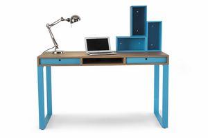 Easy desk 01, Escritorio con cajones