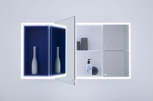 Joy espejo, Espejo de almacenamiento práctico para baño