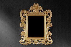 Ricciolo pequeño, Espejo de estilo adecuado para hoteles y restaurantes