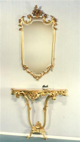 5040 ESPEJO, Espejo tallado adecuado para hotel de lujo