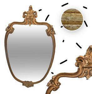580 ESPEJO, Espejo con marco tallado