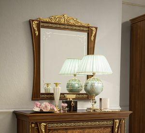 Aida espejo, Espejo de estilo clásico, con marco de madera