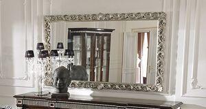 ART. 2754, Espejo con marco con adorno plateado