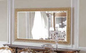 ART. 3059, Espejo con marco de pan de oro.