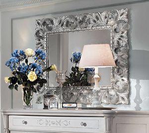Art. 310, Espejo con marco acabado plateado
