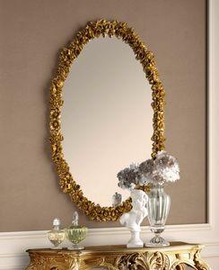 Art. 801, Espejo tallado ovalado