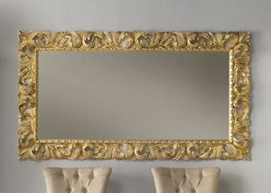 Art. 803, Espejo tallado, acabado dorado