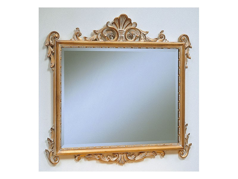 Art. 811, Espejo clásico de lujo, acabado en escabeche, hoteles