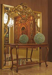 Art. 893, Gran espejo con marco de madera tallada a mano