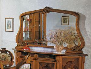 Brianza espejo, Espejo de encimera de estilo clásico