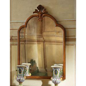 Courbet RA.0835, Pequeño espejo de panel Veneto de estilo del siglo XVIII