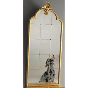 Degas RA.0835.A, Gran espejo de panel de Véneto de estilo del siglo XVIII