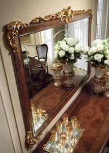 Donatello espejo, Lujo clásico espejo, marco tallado y decorado a mano, por cada habitación de estilo neoclásico