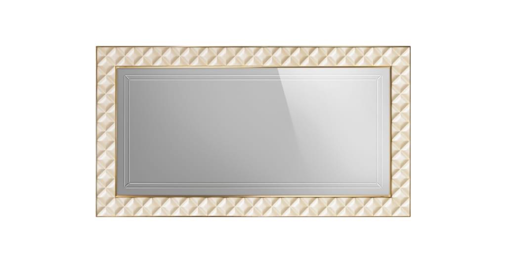 Espejo de estilo clásico con marco acolchado | IDFdesign