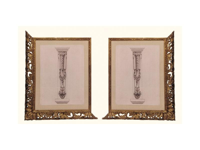 Frame art. 102, Marco hecho de madera de tilo, de estilo veneciano