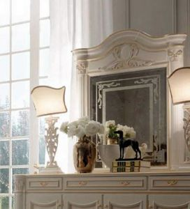 Luigi XVI Art. SPE/LU/120, Espejo con marco tallado