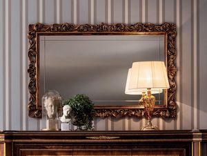 Modigliani espejo tallado, Espejo con marco precioso.