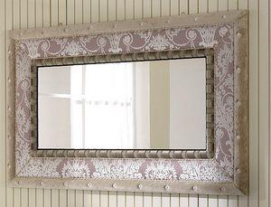 QUEEN espejo 2, Espejo con marco de tela