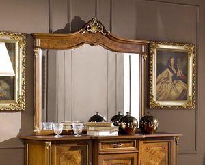Regency espejo, Espejo de encimera de estilo clásico
