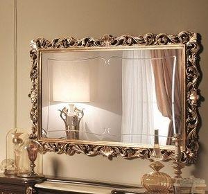 Sinfonia oro espejo, Incrustaciones de espejo en pan de oro, al estilo del siglo XVII