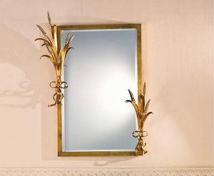SP.7265, Espejo rectangular con marco en pan de oro