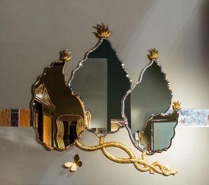 SP30 espejo, Deja la forma del espejo con acabado en pan de oro