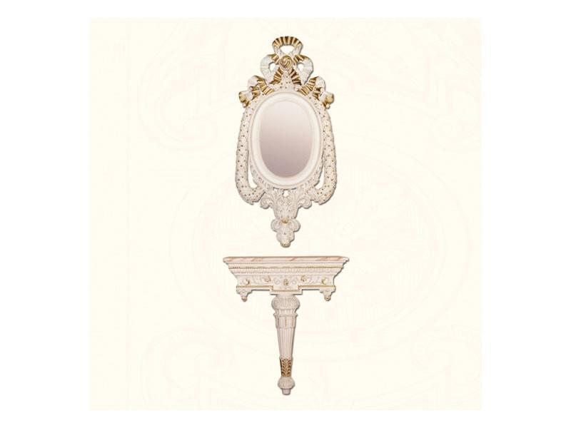 Wall Mirror art. 152, Espejo de estilo clásico, con marco decorado