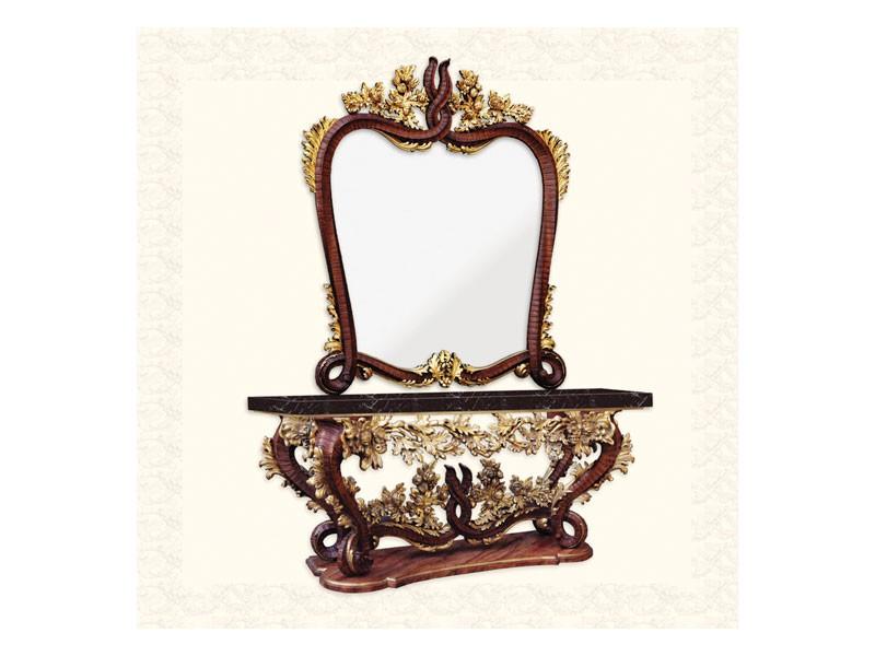 Wall Mirror art. 161, Espejo con marco, 600 estilo