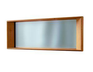 '900 5415, Espejo con marco de madera tallada