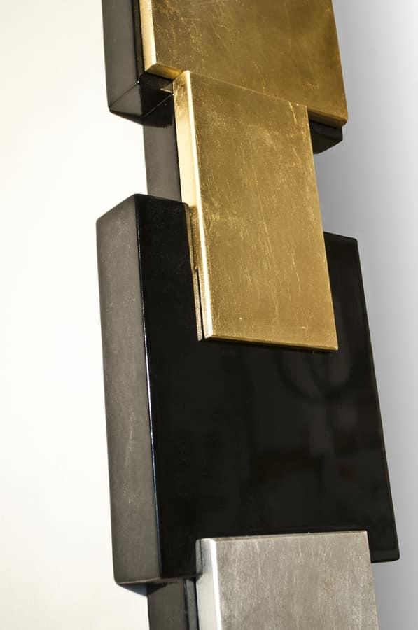 Art. 2904 Michelle, Espejo con marco especial en cuatro acabados