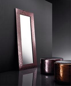 ART. 802 BEAUTY MIRROR, Espejo con marco en cuero regenerado, varios colores