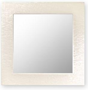 Asia, Espejo de pared con marco de madera