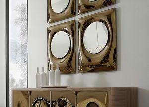Bolla espejo, Espejo de cristal curvado