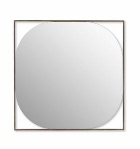 Circe espejo, Espejo con marco de acero