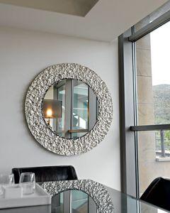 Cliff 329, Espejo redondo, con marco de cristal